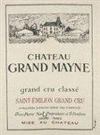 Chateau Grand Mayne, Saint-Emilion Grand Cru 2015 (750 ml)