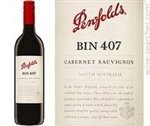 Penfolds Bin 407 Cabernet Sauvignon, South Australia 2017 (750 ml)