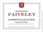 Domaine Faiveley Chambertin Clos de Beze Grand Cru, Cote de Nuits 2012 (750 ml)