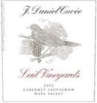 Lail Vineyards J. Daniel Cuvee Cabernet Sauvignon, Napa Valley 2016 (750 ml)