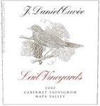 Lail Vineyards J. Daniel Cuvee Cabernet Sauvignon, Napa Valley 2017 (750 ml)