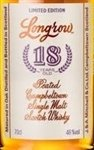 Longrow Springbank Distillery 18 Year Old Single Malt Scotch Whisky, Campbeltown (750 ml)