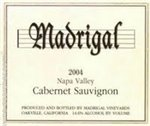 Madrigal Cabernet Sauvignon, Napa Valley 2012 (750 ml)