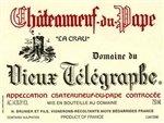 Domaine du Vieux Telegraphe Chateauneuf-du-Pape La Crau 2013 (1.5 Liter)
