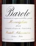 Fratelli Alessandria Barolo Monvigliero Barolo 2012 (750 ml)