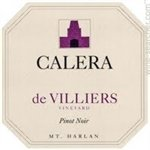 Calera de Villiers Vineyard Pinot Noir, Mount Harlan 2016 (750 ml)