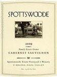 Spottswoode Family Estate Grown Cabernet Sauvignon 2014 (1.5 Liter)
