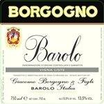 Giacomo Borgogno & Figli Fossati, Barolo 2010 (750 ml)