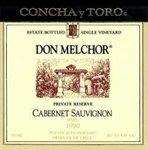 Concha y Toro Don Melchor Cabernet Sauvignon 2015 (750 ml)