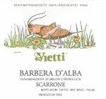 Vietti Vigna Scarrone Barbera d'Alba 2015 (750 ml)