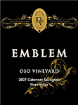 Emblem Oso Vineyard Cabernet Sauvignon 2012 (750 ml)