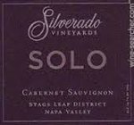 Silverado Vineyards Solo Cabernet Sauvignon 2013 (750 ml)