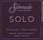 Silverado Vineyards Solo Cabernet Sauvignon 2013 (750 ml)