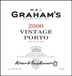 W. & J. Graham's Vintage Port 2000 (750 ml)