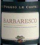 Poggio Le Coste Barbaresco 2014 (750 ml)