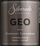 Silverado Vineyards Geo Cabernet Sauvignon, Coombsville 2014 (750 ml)