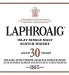Laphroaig 30 Year Old Single Malt Scotch Whisky, Islay (750 ml)