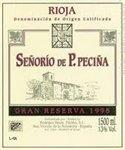Bodegas Hermanos Pecina Senorio de P. Pecina Gran Reserva, Rioja 2009 (750 ml)