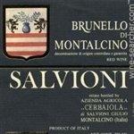 Salvioni Cerbaiola Brunello di Montalcino 2012 (750 ml)