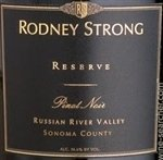 Rodney Strong Reserve Pinot Noir, Russian River Valley 2014 (750 ml)