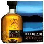 Balblair Vintage Release Single Malt Scotch Whisky, Highlands 1983 1st Release (750 ml)