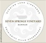 Evening Land Silver Label 'Seven Springs Vineyard' Pinot Noir 2013 (750 ml)