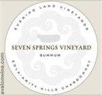 Evening Land Silver Label 'Seven Springs Vineyard' Pinot Noir 2013 (750 ml)