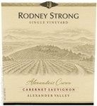 Rodney Strong Alexander's Crown Cabernet Sauvignon 2014 (750 ml