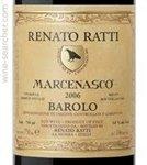 Renato Ratti Barolo Marcenasco 2016 (750 ml)