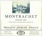 Domaine Jacques Prieur Montrachet Grand Cru, Cote de Beaune 2012 (750 ml)