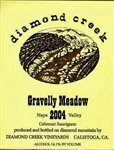 Diamond Creek Cabernet Sauvignon Gravelly Meadow 2016 (750 ml)