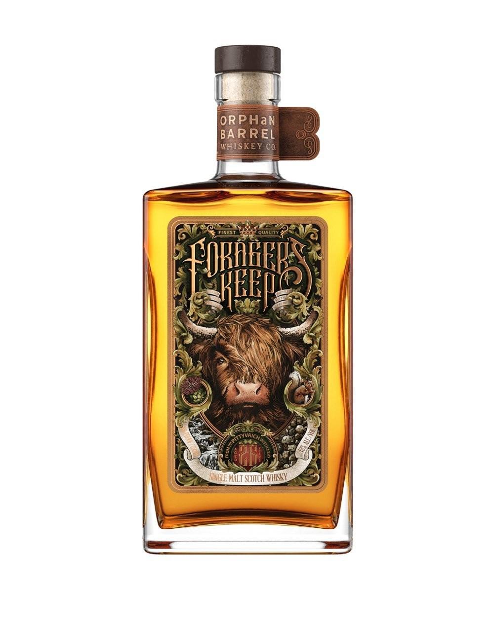 Orphan Barrel Forager's Keep 26 Year Old Single Malt Scotch Whisky, Speyside (750 ml)