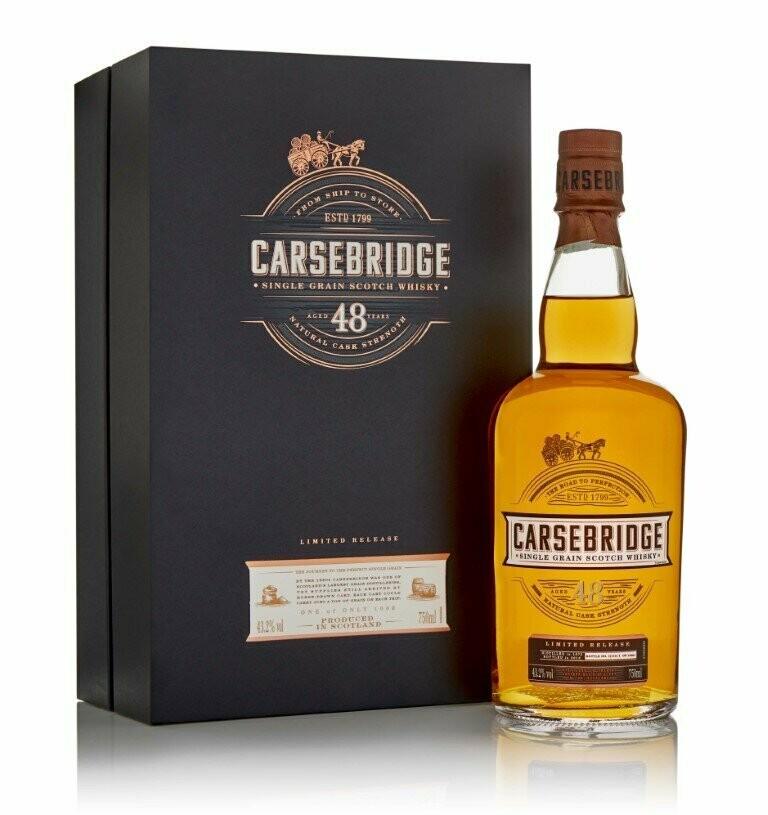 Carsebridge 48 Year Old Single Grain Scotch Whisky, Lowlands (750 ml)