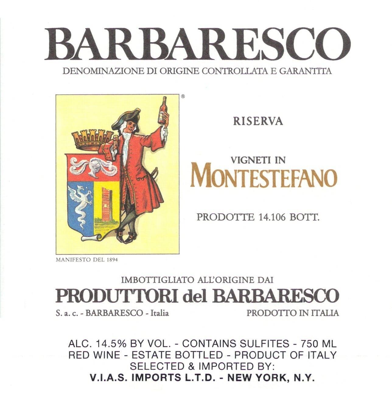 Produttori del Barbaresco Montestefano, Barbaresco Riserva 2014 (750 ml)