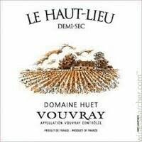Domaine Huet Vouvray 'Le Haut Lieu' Demi-Sec, Loire 2017 (750 ml)