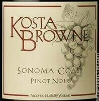 Kosta Browne Sonoma Coast Pinot Noir 2017 (750 ml)