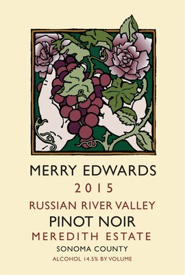 Merry Edwards Meredith Estate Pinot Noir, Russian River Valley 2015 (750 ml)