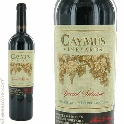 Caymus Vineyards Special Selection Cabernet Sauvignon, Napa Valley 2015 (750 ml)