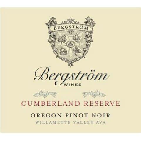 Bergstrom 'Cumberland Reserve' Pinot Noir, Yamhill-Carlton District 2016 (750 ml)