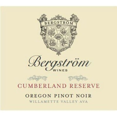 Bergstrom 'Cumberland Reserve' Pinot Noir, Yamhill-Carlton District 2016 (750 ml)
