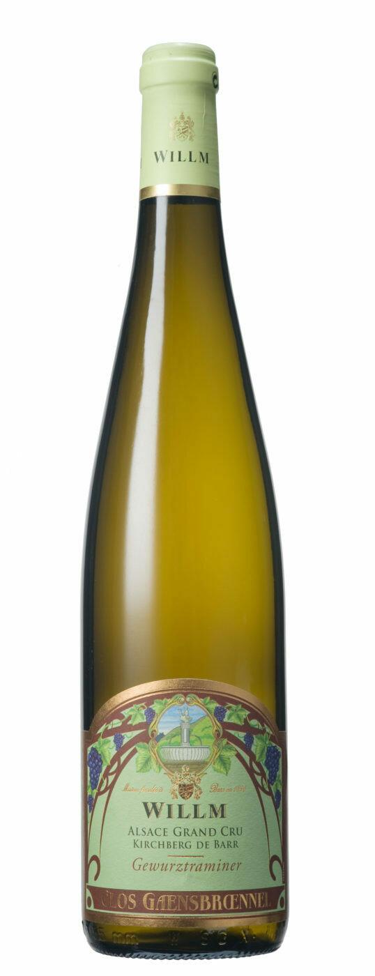 Willm Gewurztraminer Kirchberg de Barr Clos Gaensbroennel, Alsace Grand Cru 2014 (750 ml)
