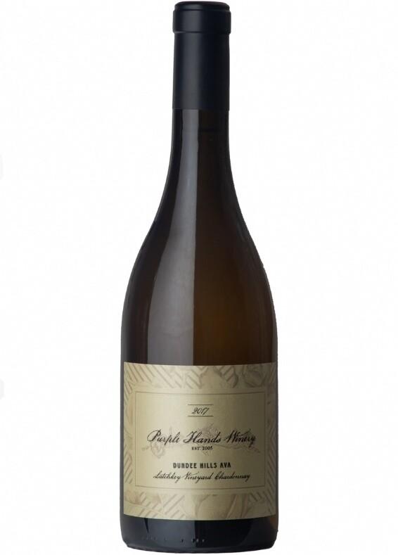 Purple Hands Chardonnay, Latchkey Vineyard 2017 (750 ml)