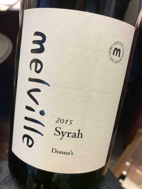 Melville Estate Donna's Syrah, Sta Rita Hills 2015 (750 ml)