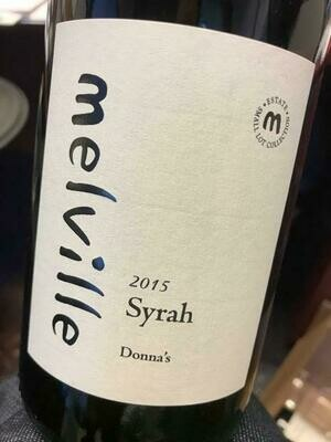 Melville Estate Donna's Syrah, Sta Rita Hills 2015 (750 ml)