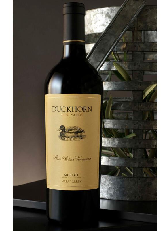 Duckhorn Vineyards Three Palms Vineyard Merlot, Napa Valley 2016 (1.5 Liter)