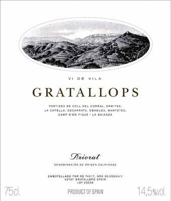 Alvaro Palacios Vi de Vila Gratallops, Priorat 2016 (750 ml)