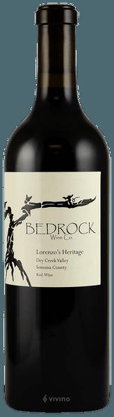 Bedrock Wine Co. Lorenzo's Heritage, Dry Creek Valley 2017 (750 ml)