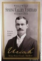 Spring Valley Vineyard Uriah, Walla Walla Valley 2015 (750 ml)
