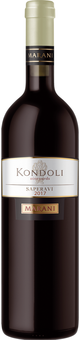 Telavi Wine Cellar Marani Kondoli Saperavi, Kakheti, Georgian Republic 2017 (750 ml)