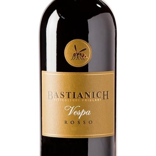Bastianich Vespa Rosso Colli Orientali del Friuli, Friuli-Venezia Giulia 2013 (750 ml)